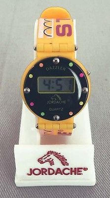 Vintage Jordache Studio Dazzler Quartz Watch NEW BATTERY READY TO WEAR
