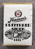 Vintage 1950's Hamm's Preferred Stock Beer 10 Box Matchbox Matches Set