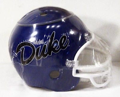 Duke Blue Devils Chip and Dip Blue Football Helmet