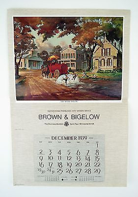 Vintage 1979 Fred Sweney The Water Wagon Calendar Print