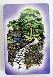Vintage 1970's Trump Garden Pathways Two Deck Playing Cards Playing Card Set