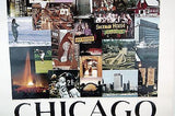 Vintage 1968 David Maenza Chicago Poster Factory Sleeved Poster