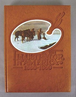 Vintage Limited Edition The Illustrator in America 1880 - 1980 Leather Bound Book