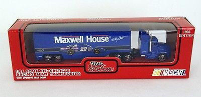 1993 Racing Champions NASCAR Bobby Labonte Maxwell House Diecast Transporter