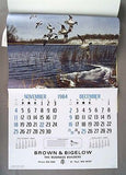 Vintage 1984 David Maass Wilderness Wings Calendar
