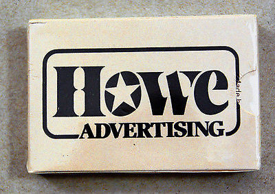 Vintage Howe Advertising Hoyle Kent Playing Cards