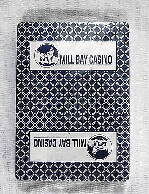 Mill Bay Casino Poker Size Blue Playing Cards