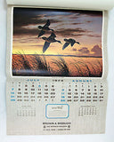 Vintage 1974 2019 David Maass Wilderness Wings Calendar