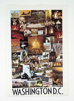 Vintage 1969 David Maenza Washington D.C. Poster