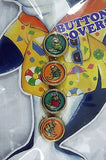 Vintage Kids Dolphin Button Cover Set 4 Button Covers