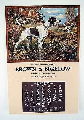 Vintage 1973 Stanford Fenelle Right On Calendar Print