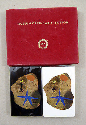 Vintage Joan Miro Child and Star Museum of Fine Arts Boston Playing Card Set