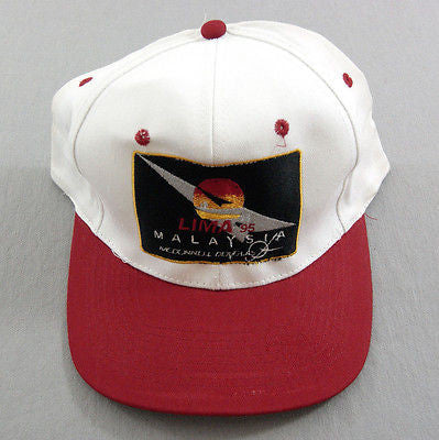 1995 LIMA Malaysia International Maritime Aerospace Show McDonnell Douglas Hat