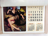 Vintage 1982 2021 Gil Elvgren Brown and Bigelow Pin Up Calendar