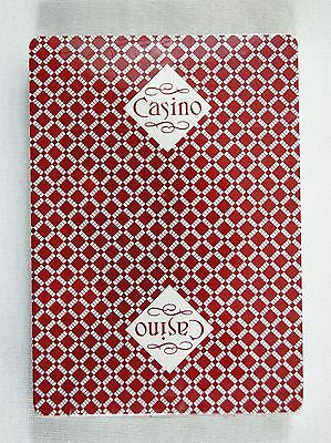 Vintage PGC Red Casino Poker Size Playing Cards