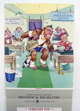 Vintage 1976 Lawson Wood Monkeys Salesmonkship Calendar Print
