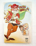 Vintage 1980 Puss In Boots Fairy Tale Fold Out Book