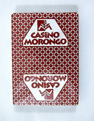 Casino Morongo Poker Size Red Playing Cards