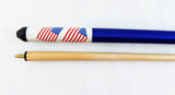 American Flag Collectible Pool Cue Stick