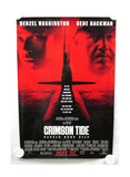 Vintage 1995 Crimson Tide Two Sided Original Movie Theater Poster