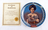 Vintage 1983 Dr. Pepper Girl Limited Edition Collector Plate