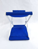 Vintage 1980's Blue Head Mate Head Chair Head Rest