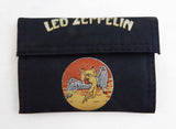 Vintage 1980's Led Zeppelin Nylon Wallet