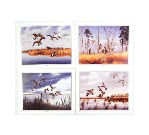 David Maass Wilderness Wings Print Portfolio 248 Four Print Set