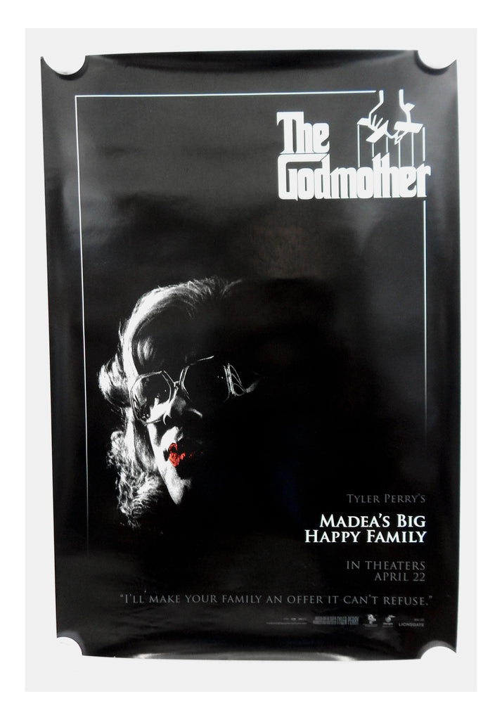 Madea's Big Happy Family The Godmother Two Sided Original Advance Movie Theater Poster