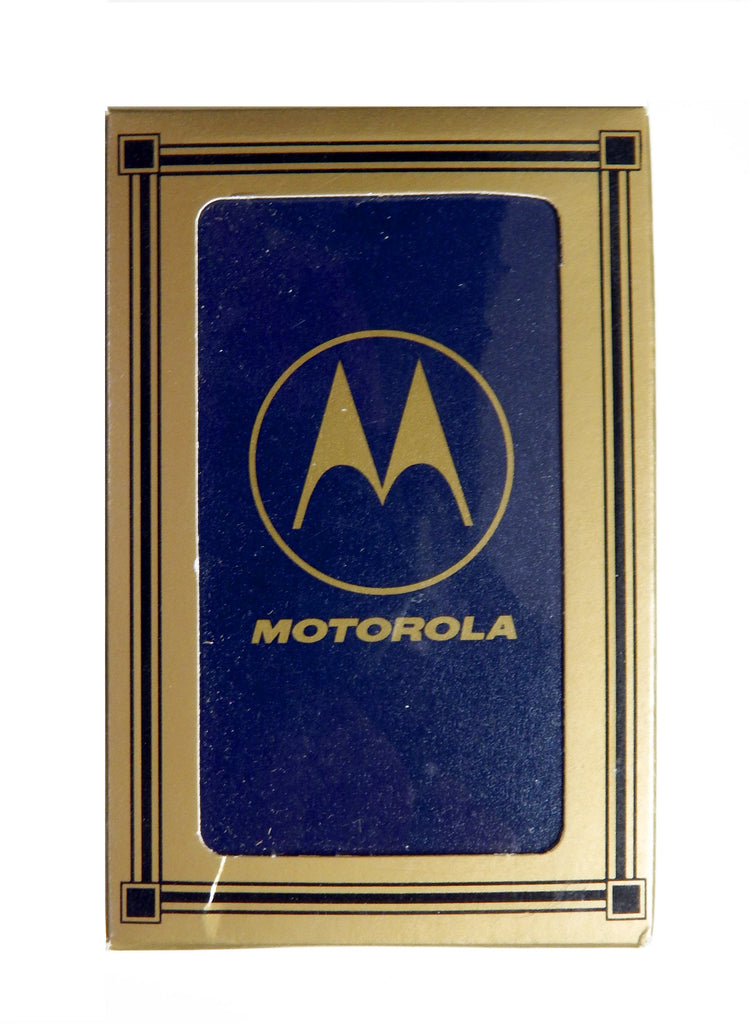 Vintage 1980's Hoyle Motorola Playing Cards Deck