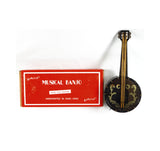 Vintage Sankyo Music Box Dancer Musical Banjo and Stand Music Box