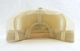 Vintage 1990's Northern Pike Beige Cream Mesh Trucker Hat