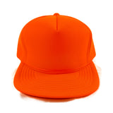Vintage 1990's Xpres Caps Blaze Neon Orange Trucker Hat