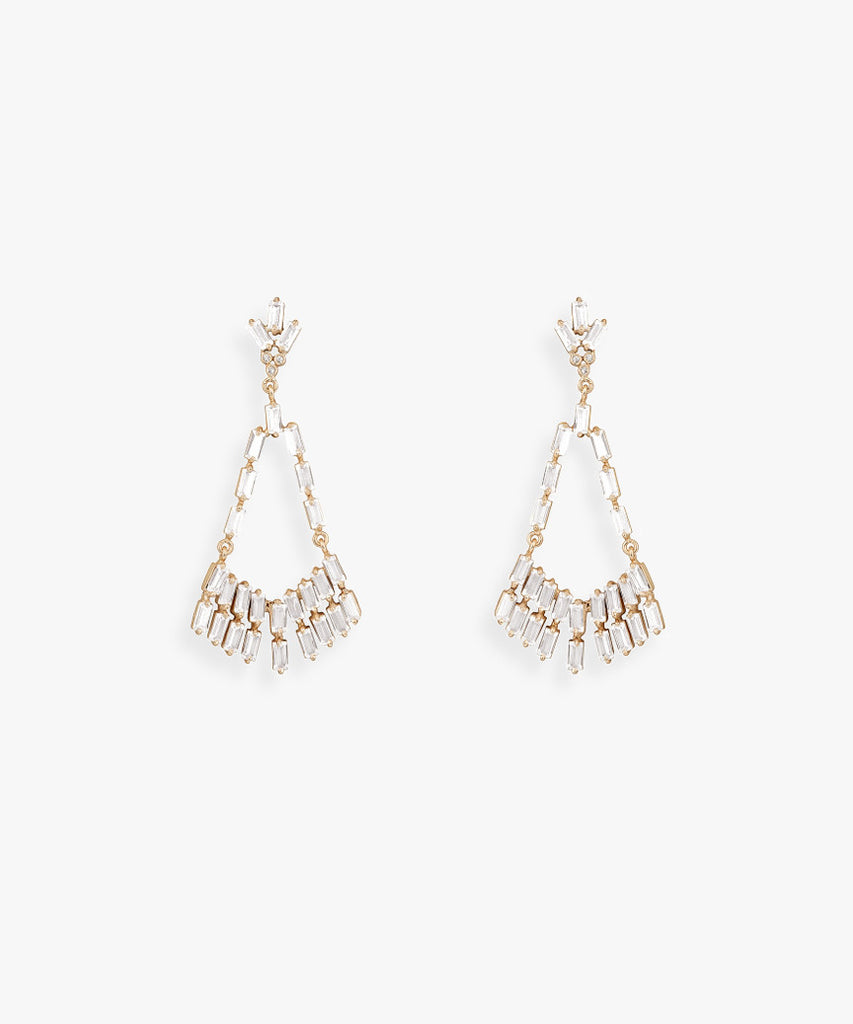 Ava Chandelier Earrings - As One Weds