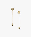 Poesy Drop Earrings - As One Weds