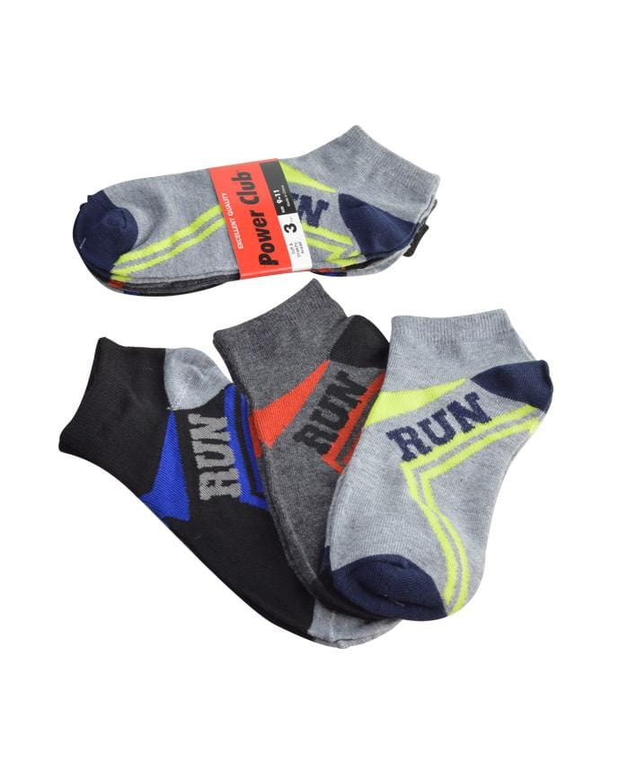Power Club Run Sports Men's Fashion Socks, EVES