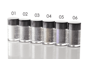Santee Face & Body Glitter Powder - 12 Shades