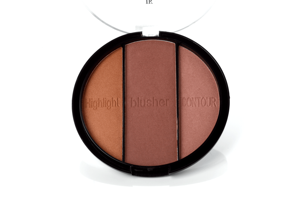Just Kolour Glow Bronzer Perfecting Trio Kit, COSMETIC