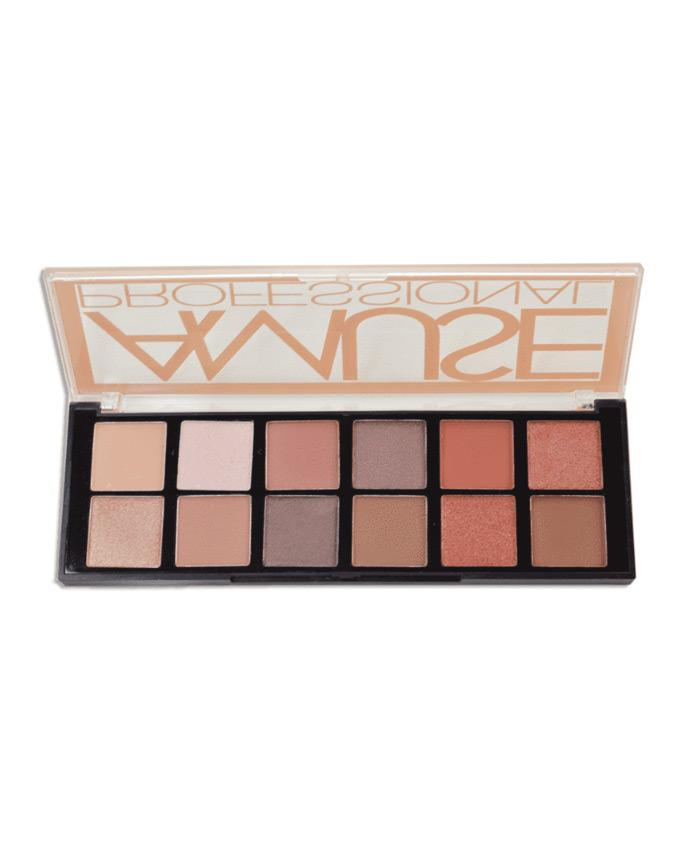 Amuse Professional 12 Shade Eyeshadow Palette, COSMETIC