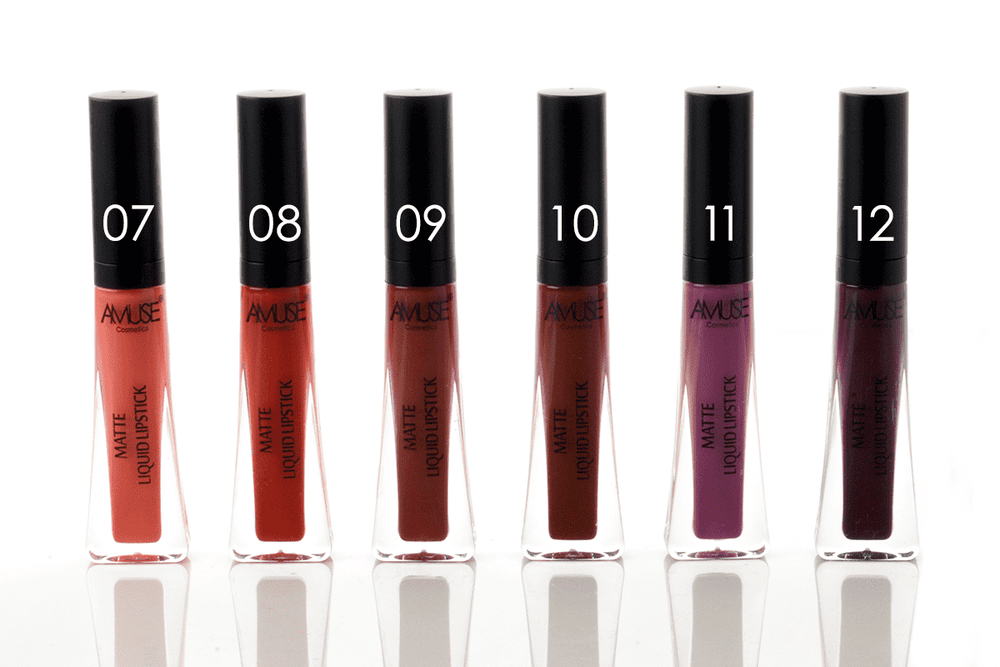 Amuse Truly Rouge Matte Liquid Lipstick - 12 Shades, COSMETIC
