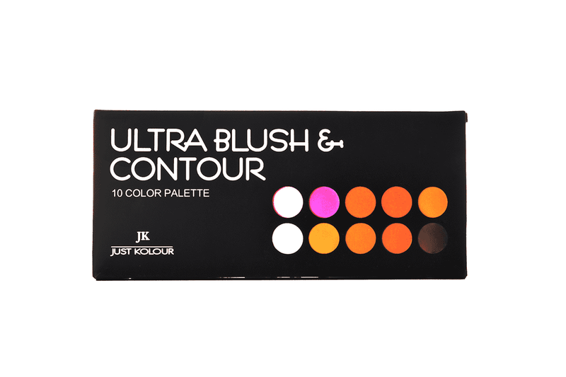 Just Kolour Ultra Blush & Contour Palette