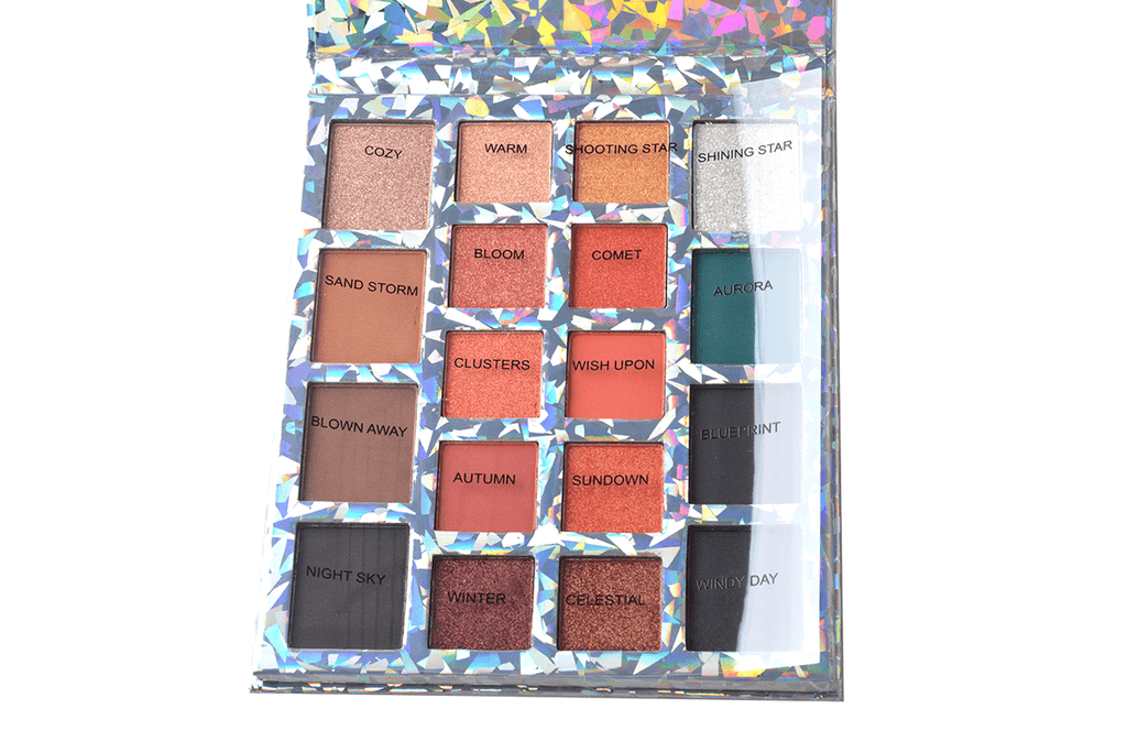 Prolux Whirlwind 18 Shade Eyeshadow Palette