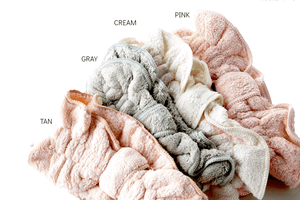 Towel Makeup Headband - 4 Styles