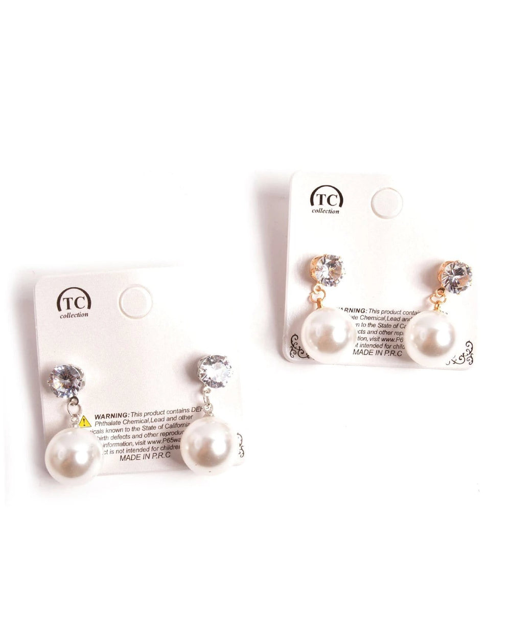 Classic Sweetheart Earrings, JEWELRY