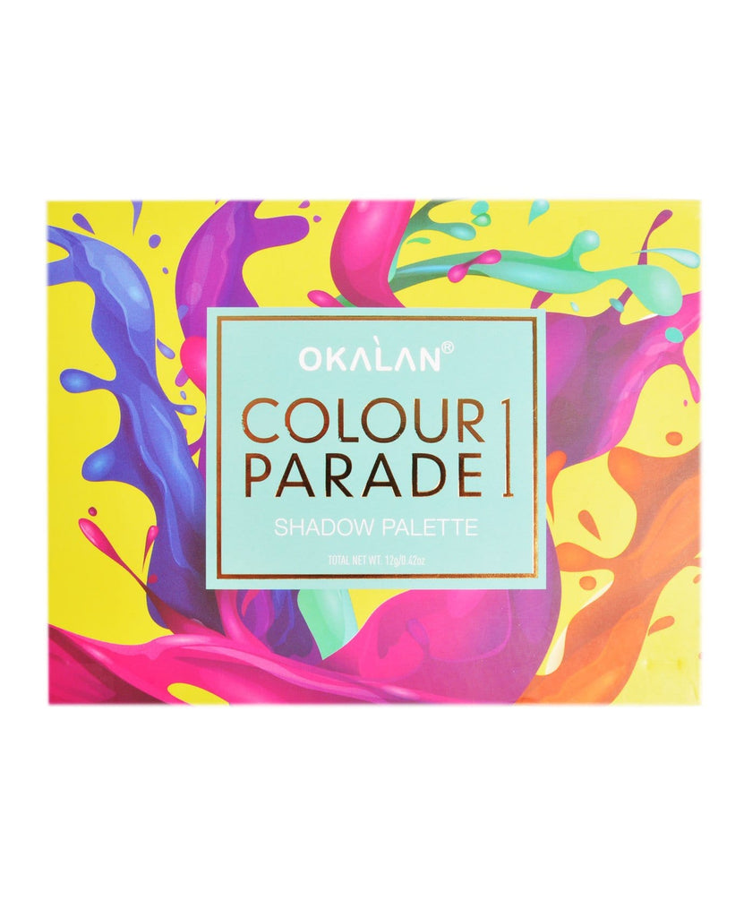 Okalan Colour Parade 1 Shadow Palette, COSMETIC