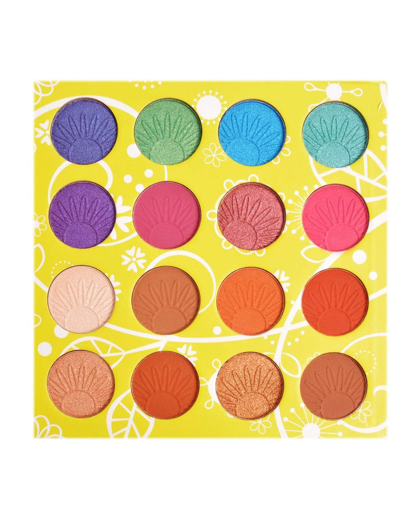 Okalan Colour Revelry 16-Color Shadow Palette, COSMETIC