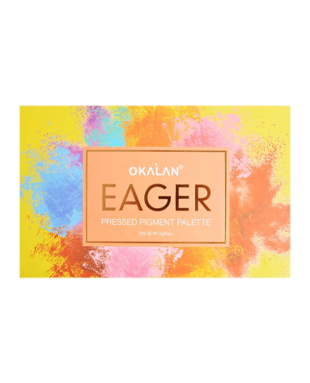 Okalan Eager Pressed Pigment Palette, COSMETIC