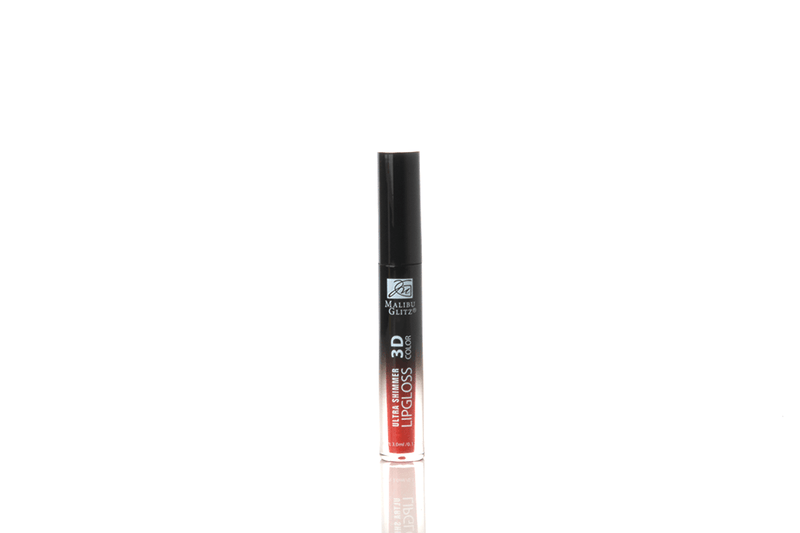 Malibu Glitz 3D Color Ultra Shimmer Lip Gloss - Reds