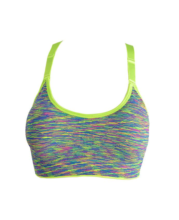 Angelina Bold Stride Sports Bra, EVES