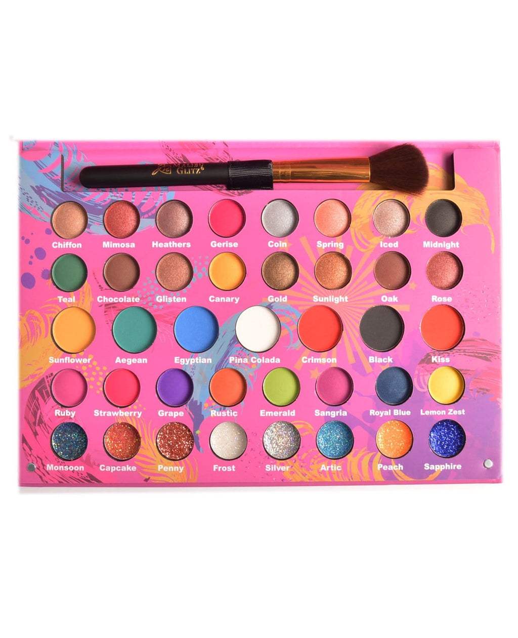 Malibu Glitz Dancing Colors Palette, COSMETIC